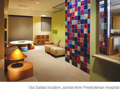 Picture of Dallas office waiting room
